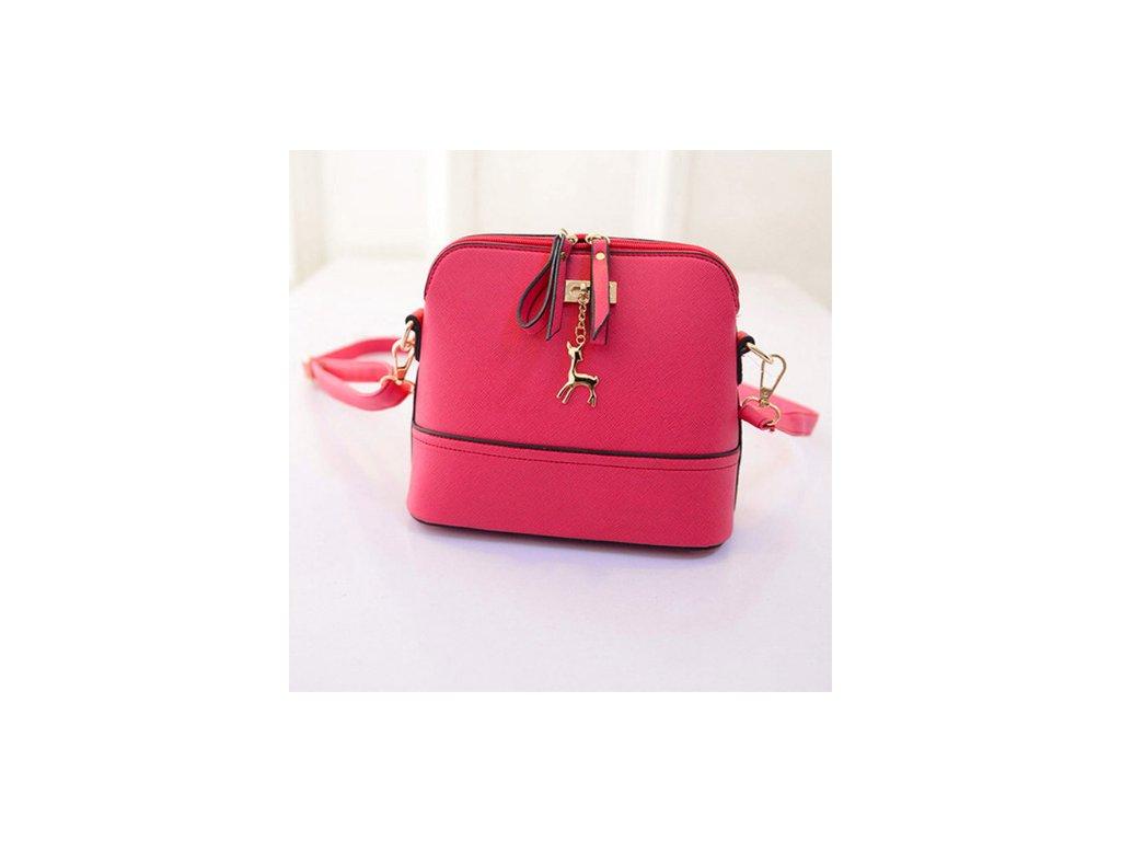 1436 damska kabelka v nadhernom dizajne cervena