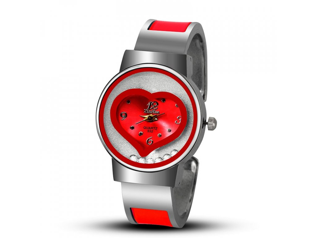 1 New XINHUA bracelet watch women luxury brand stainless steel quartz thin wrist watches ladies fashion bangle