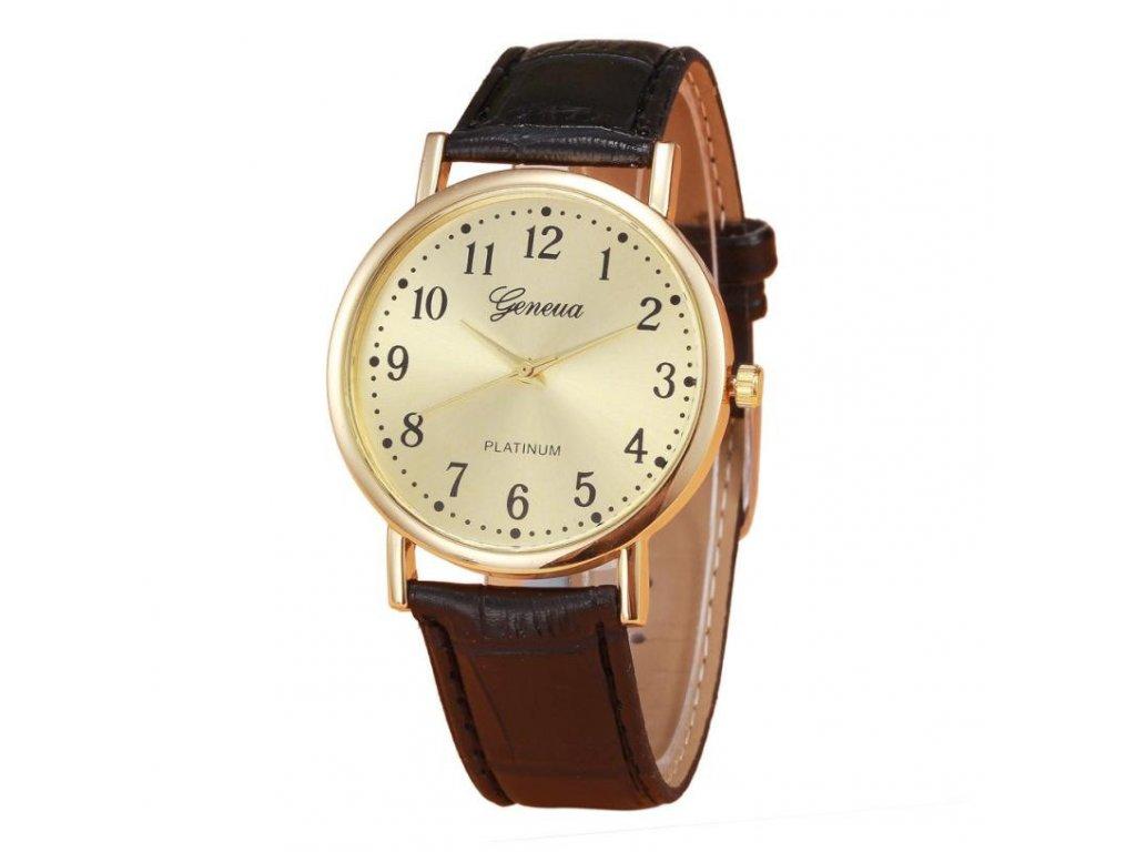 2057 damske retro hodinky 2 varianty farba cierna