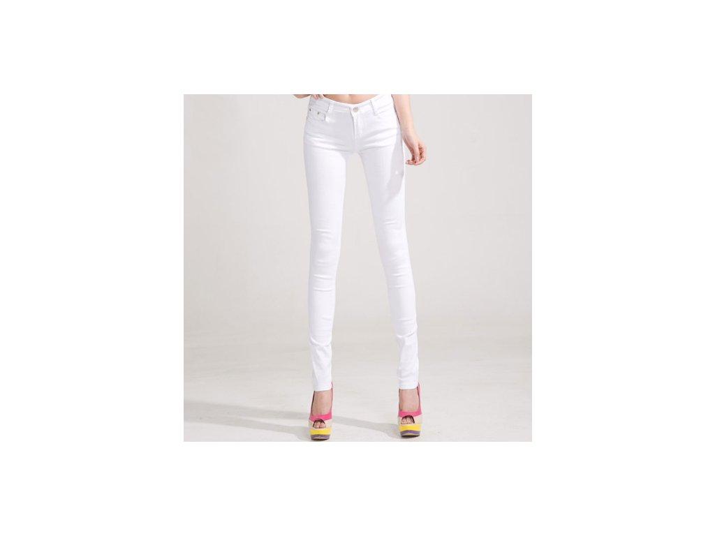 2150 damske stylove dzinsy biele velkost 26
