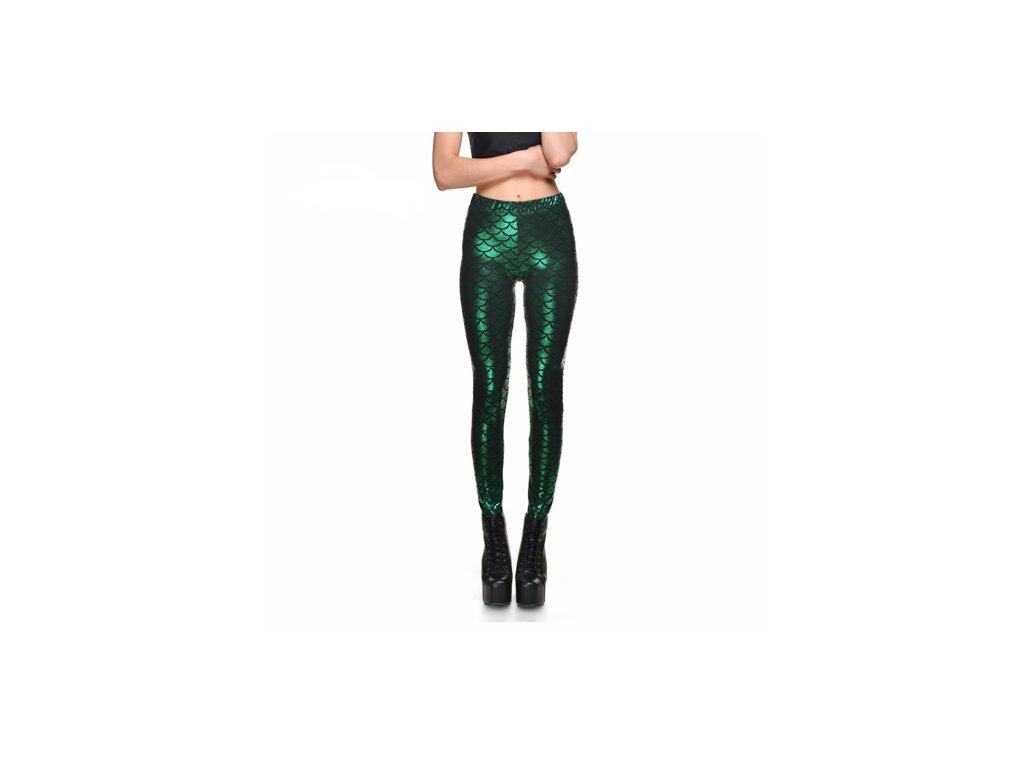 2204 damske stylove leginy zelene az 2xl velkost l