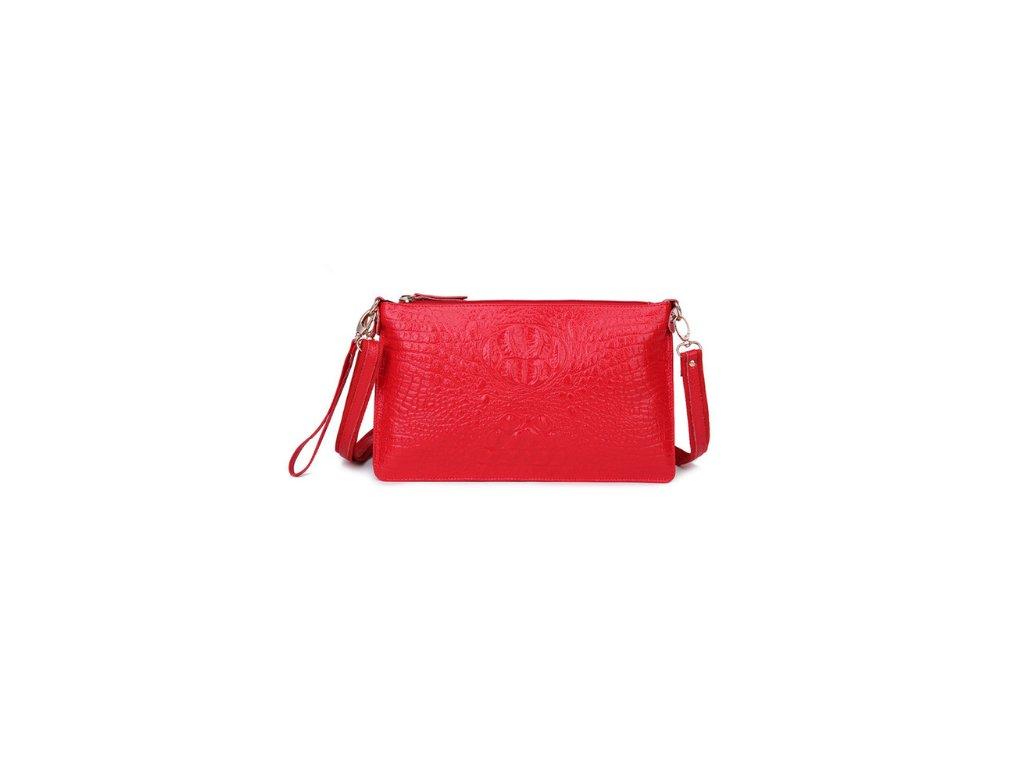 2210 damske stylove listocek so vzorom 10 farieb farba cervena