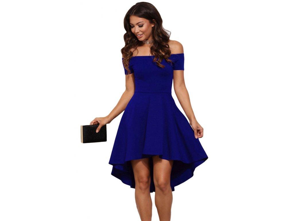Dámske spoločenské šaty Zan (Farba Čierna, Veľkosť XL)