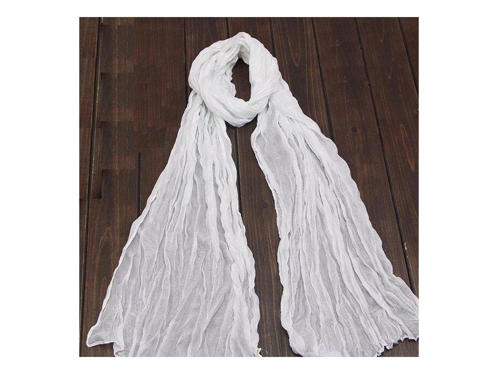 2522 damska modna satka 20 farieb farba biela