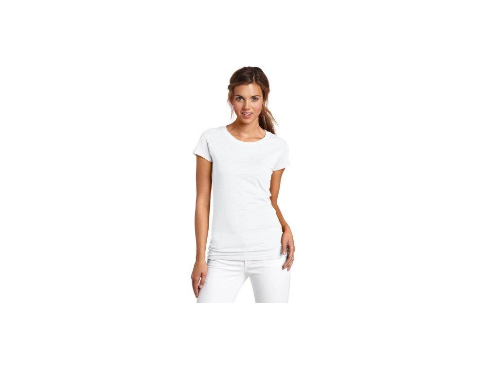 2525 damsky modny top biely velkost l