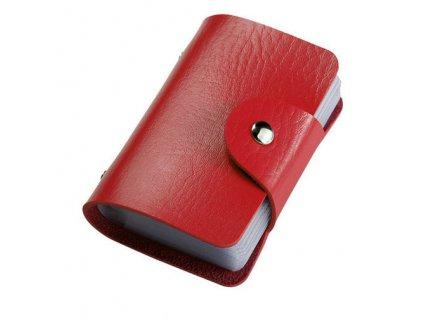 6215 prakticke puzdro na doklady 7 farieb farba cervena