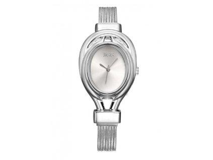 11030 stylove damske hodinky 2 farby farba strieborna
