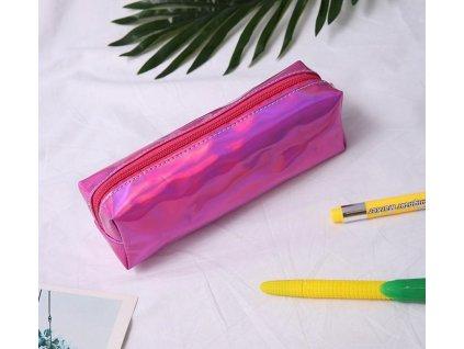 13301 puzdro na pisacie potreby 5 farieb farba ruzova