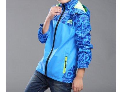 14813 chlapcenska softshell bunda 2 farby farba modra velkost 5