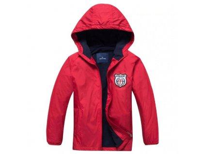 14816 chlapcenska bunda andrew 2 farby farba cervena velkost 4