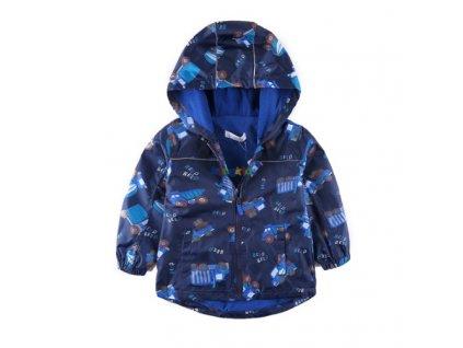 14885 chlapcenska nepremokava bunda so vzorom velkost 3