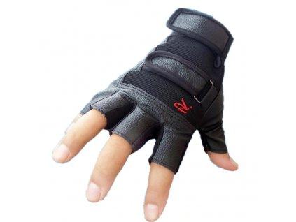 17063 panske fitness rukavice cierne