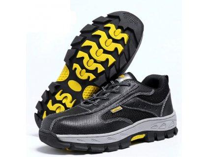 Bezpečnostná obuv KLF (Farba Oranžová, Veľkosť 35)
