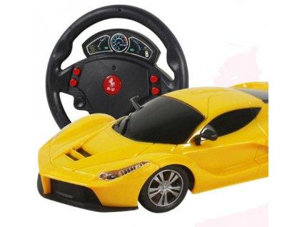 35942 1 zavodne rc auto s volantom 2 farby farba cervena