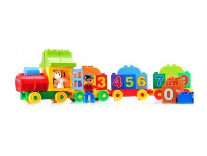 36494 stavebnica vlak 50 ks