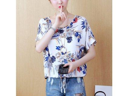 42560 damska bluza s potlacou kvetin barbara velkost l