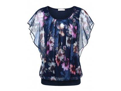42752 damska bluza s kvetinami caris velkost l