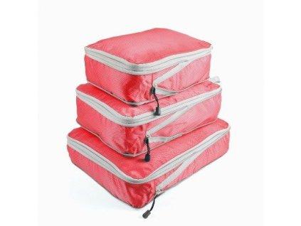 Sada cestovnych kufrov  v bielej farbe