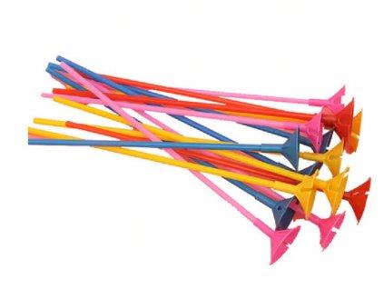 45599 plastovy drziak na baloniky 10 kusov