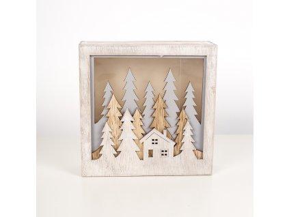 48725 svietiace drevena dekoracia varianta 1
