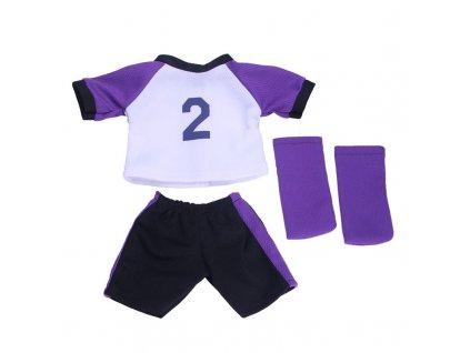 56639 futbalovy dres pre babiku farba fialova