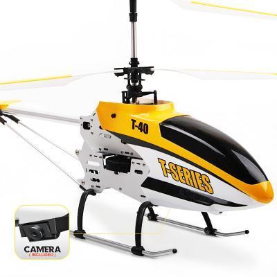 Vrtuľníky s kamerou