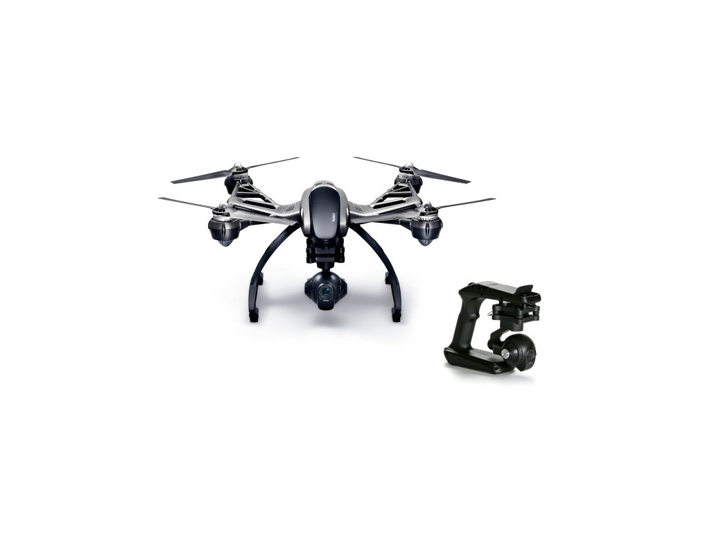 Yuneec Q500 4K Typhoon + CGO Steady Grip - YUNQ4KEU