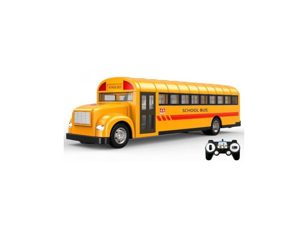 Americký školský autobus na diaľkové ovládanie