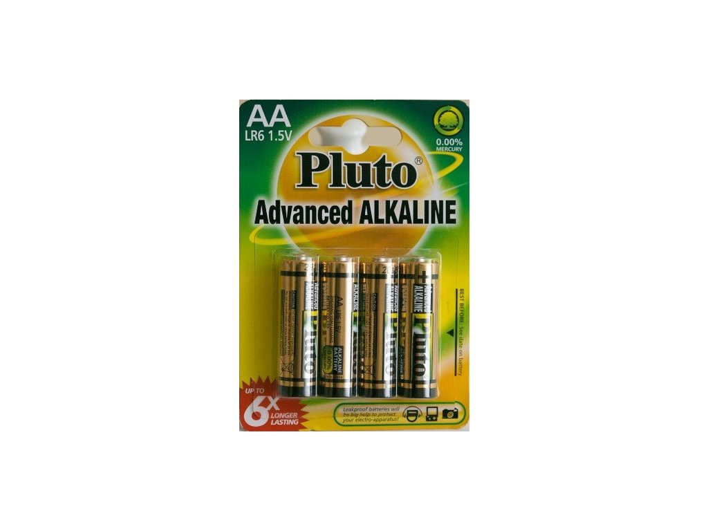 Batérie AA Pluto 4ks