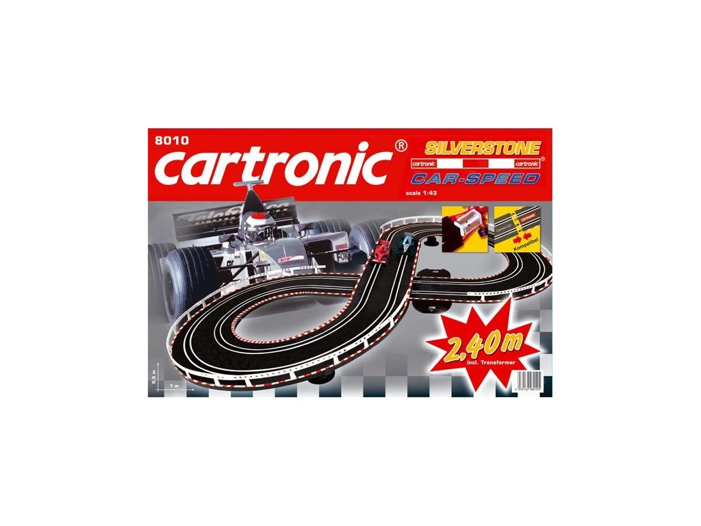 autodraha cartronic car speed silverstone 240m