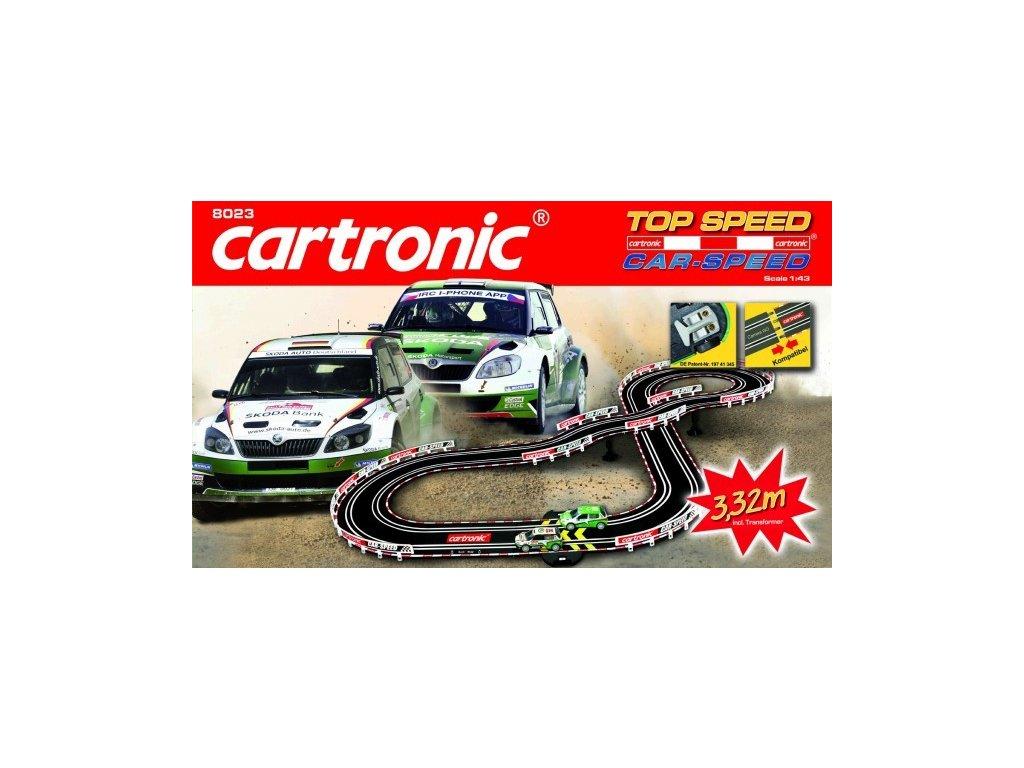 autodraha cartronic car speed top speed 332m