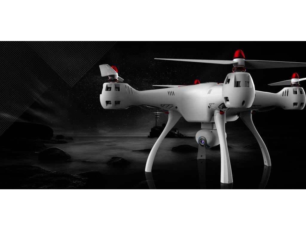 RC dron SYMA X8SW-D - dron s pohyblivou kamerou