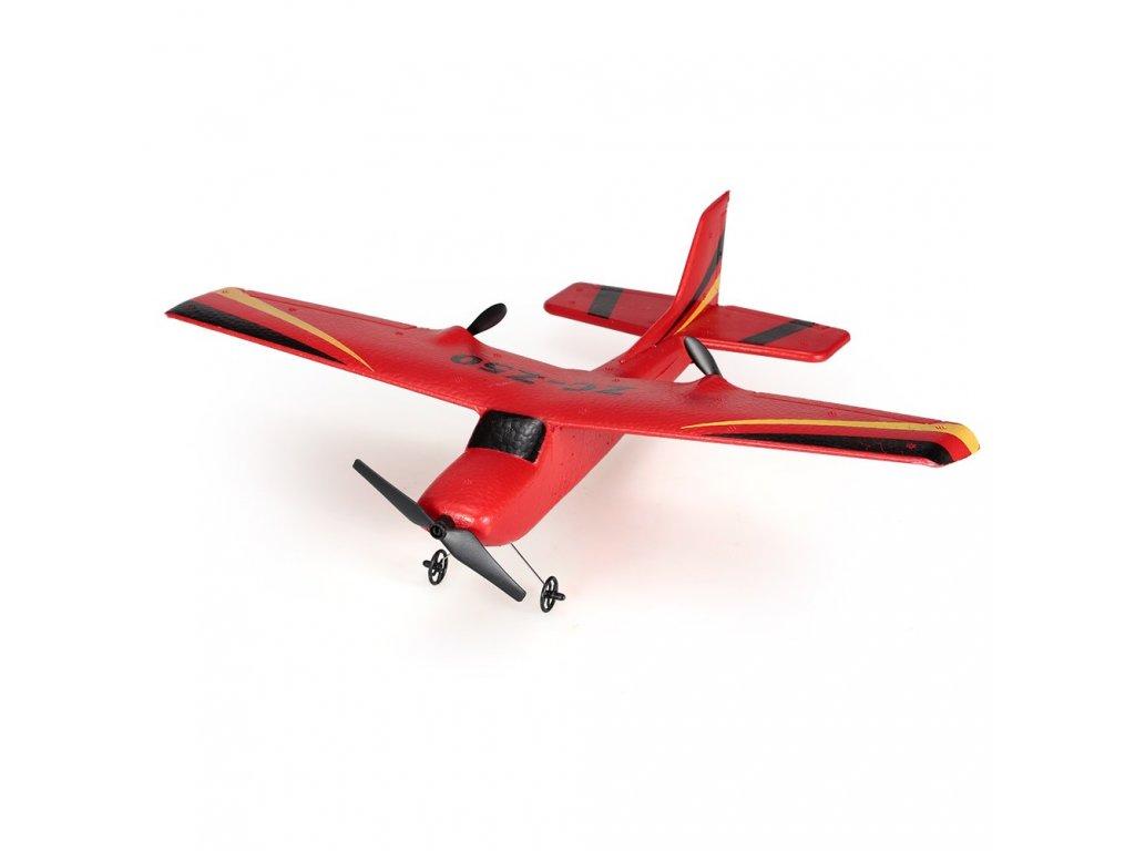 Rc lietadlo S50 na diaľkové ovládanie 2,4 GHz s batériou Lipo