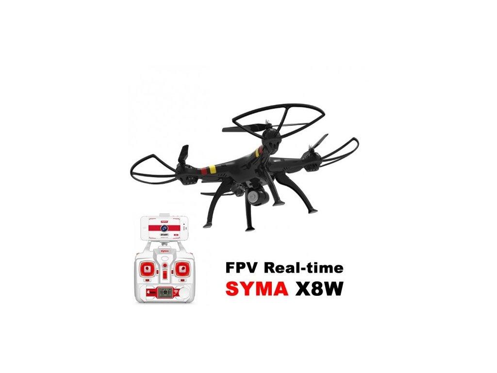 SYMA X8CW Wifi FPV - Veľký kvalitný dron s online prenosom videa
