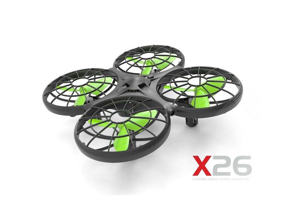 Rc dron SYMA X26 - nerozbitný a s čidlami proti nárazu