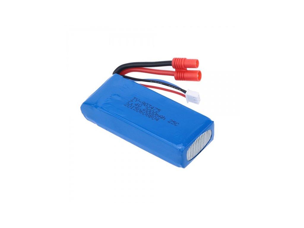 Akumulátor 2000mAh do SYMA X8C, X8W, X8CW, X8G, X8HW, X8HC, X8HG a K800