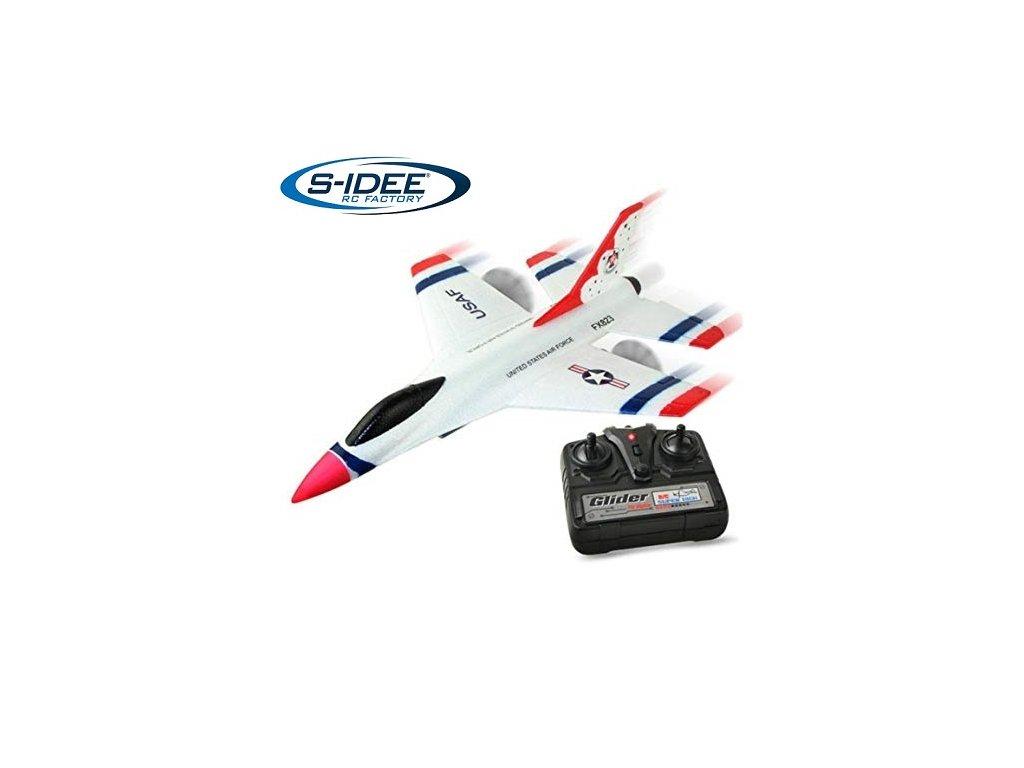 RC lietadlo F-16, 2,4 Ghz