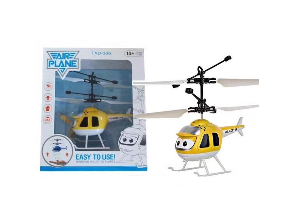 Mini helikoptéra - žltá