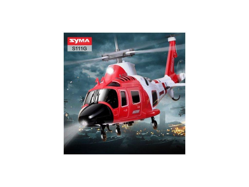 Mini Rc vrtuľník Augusta