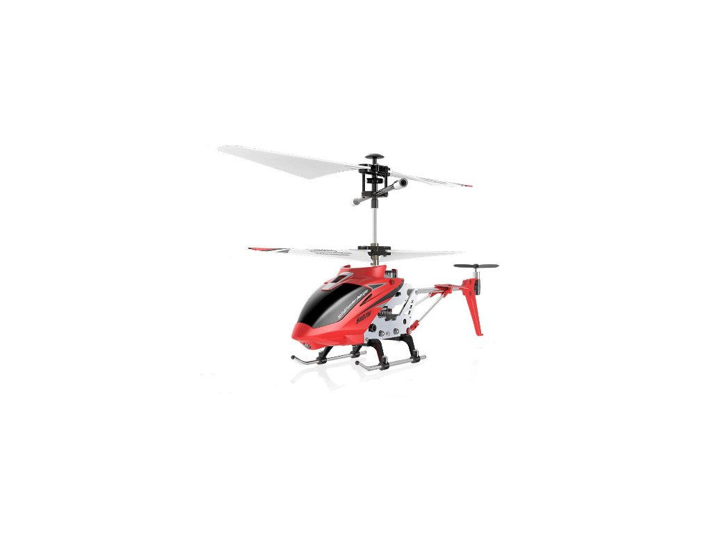 Syma S107H Phantom - ultra odolný Rc vrtuľník s barometrom - červený