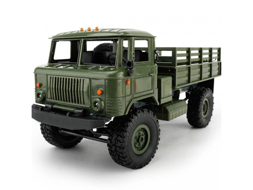 RC nákladné auto GAZ-66 4x4 zelená