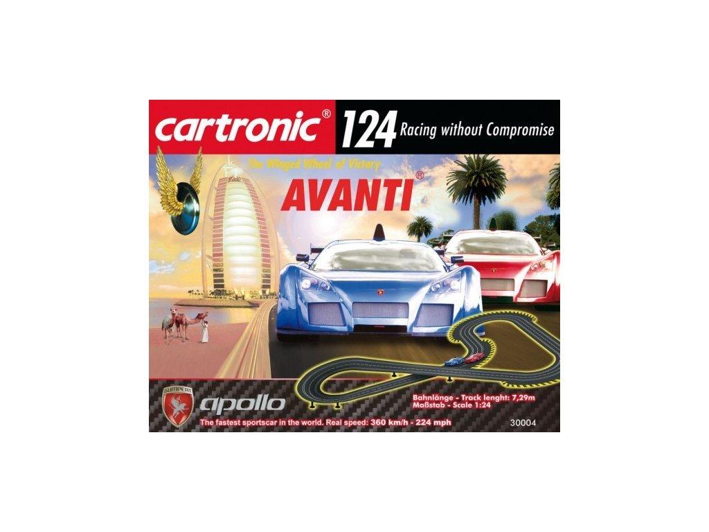 XXL Autodráha Cartronic Avanti 1:24