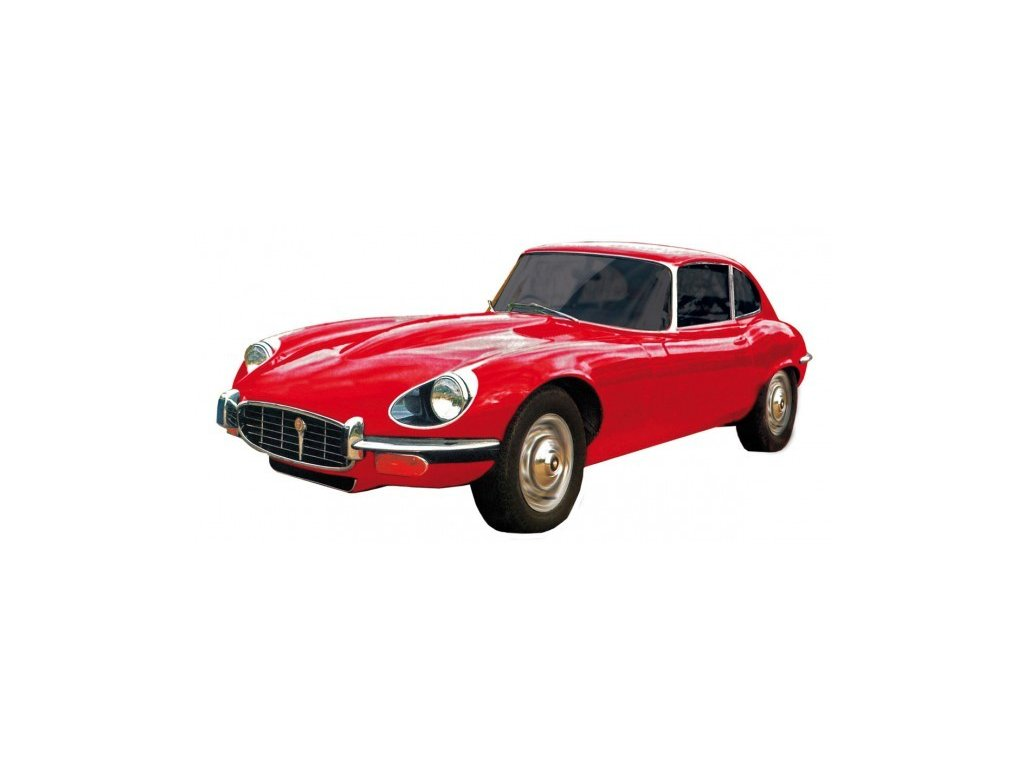Model Jaguar E-Type - červený