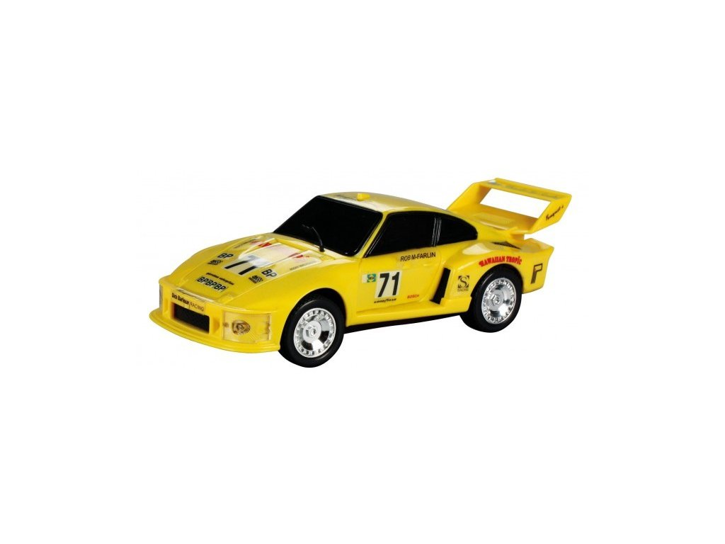 Model Porsche Turbo 935 - žlutý 1:43