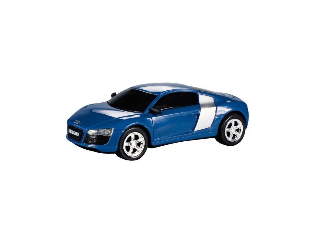 Model Audi R8 - modrá