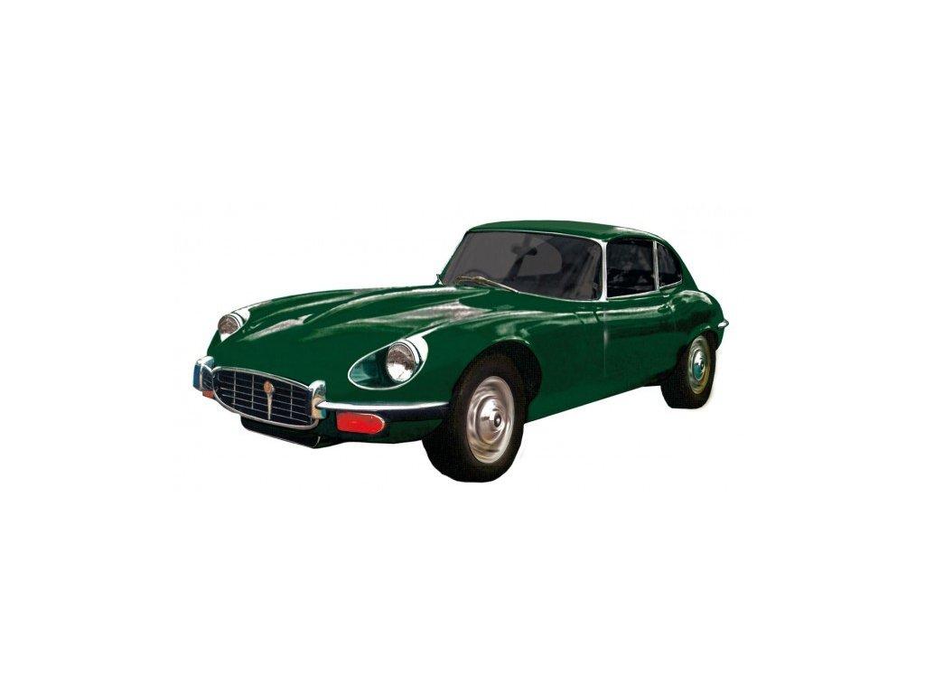 Model Jaguar E-Type - zelený
