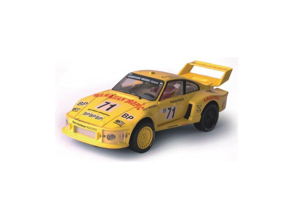 Model Porsche Turbo 935 - žlutý 1:24
