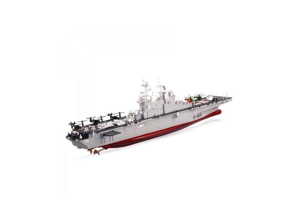 Vojenská RC loď USS Wasp LHD-1 - 1/350