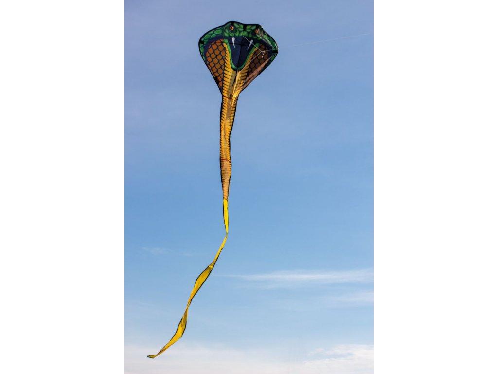 COBRA 3D šarkan pre deti 69 x 400 cm