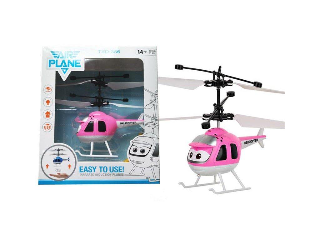 Mini helikoptéra - ružová